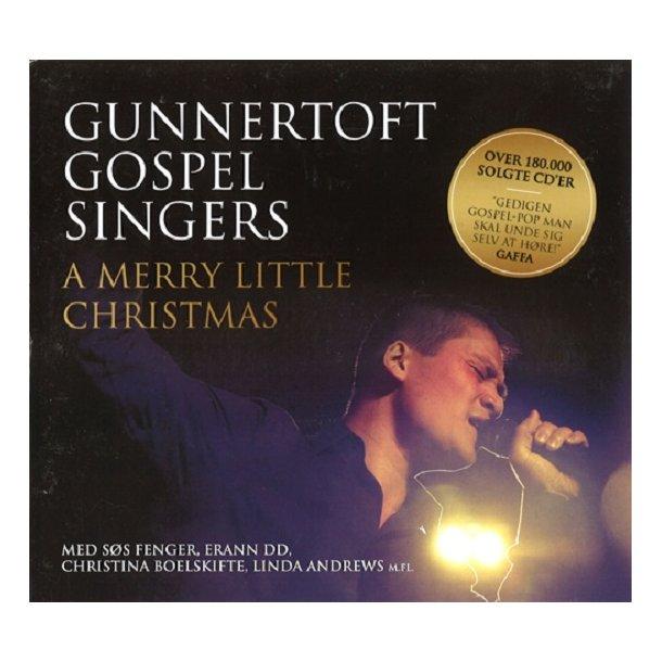 A Merry little Christmas (CD) - Gunnertoft Gospel Singers