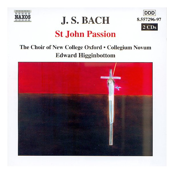 Bach: Johannespassionen (Higginbottom) (2 CD)