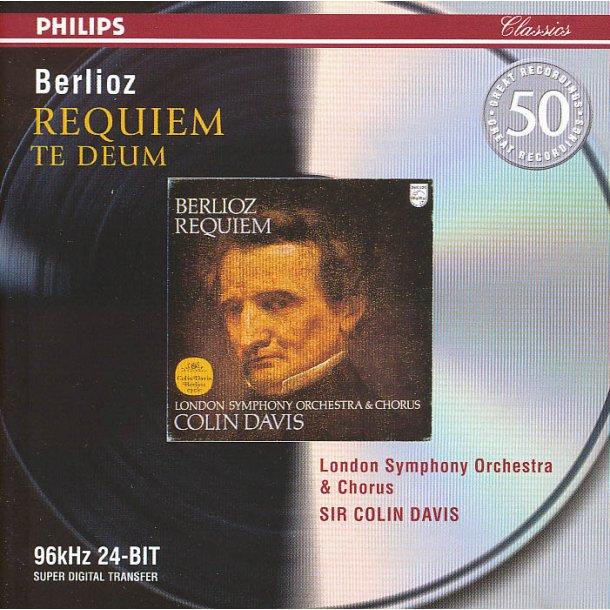 Berlioz: Requiem + Te Deum (Davis) (2CD)