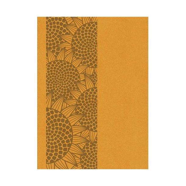Bibelen på Hverdagsdansk (trend kunstlæder, orange)