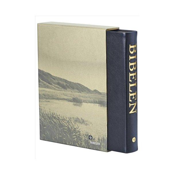 Bibelen, stor m register, sort skind (1992-oversættelsen)