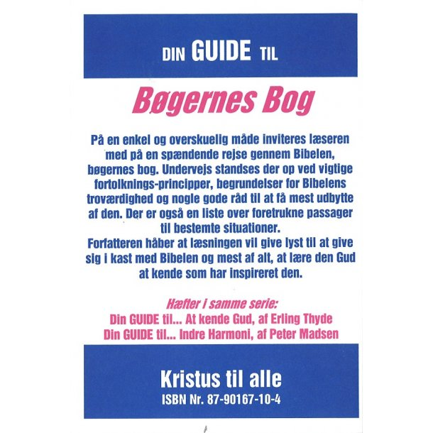 Din guide til Bøgernes Bog