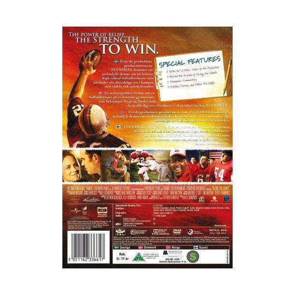 Facing the Giants (DVD) - dansk tekst