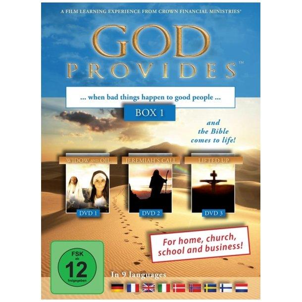 God Provides Box 1 (DVD) - Guds omsorg
