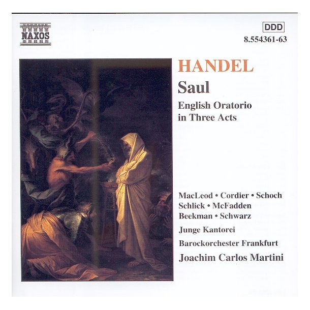 Händel: Saul (3 CD)