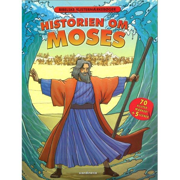 Historien om Moses. Bibelske Klistermærkebøger.