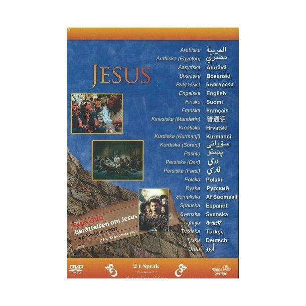 Jesus - manden der ændrede historien SE (DVD) - 24 språk