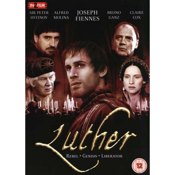 Luther (DVD) - med Joseph Fiennes