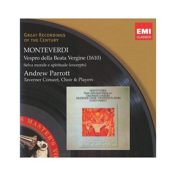 Monteverdi: Vesper (Parrott) (2 CD)