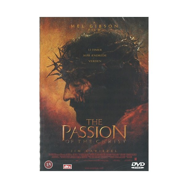 The passion of the Christ (DVD) - dansk tekst