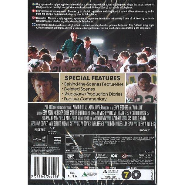 Woodlawn (DVD) - dansk tekst