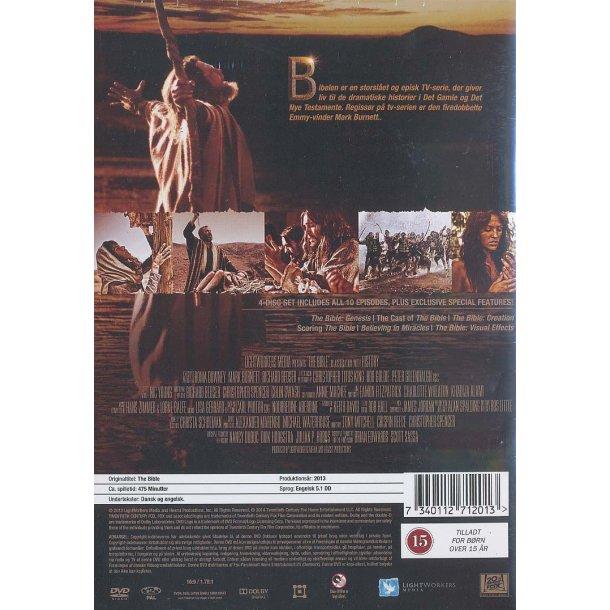 The Bible (DVD) - miniserie - dansk tekst