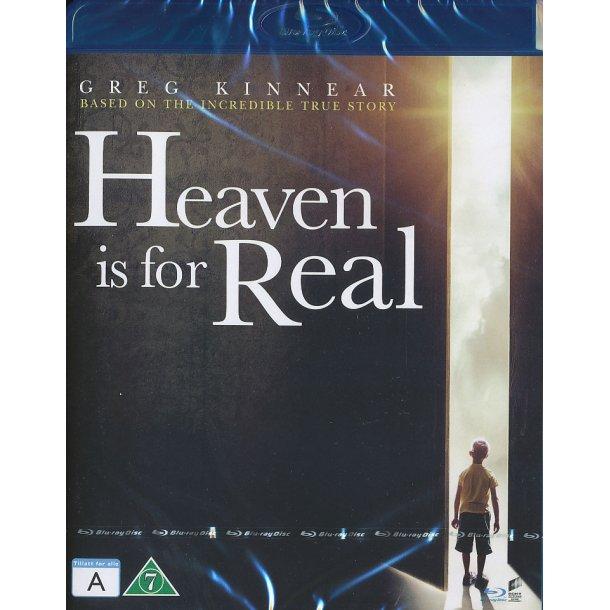 Heaven is for Real (Blu-ray) - dansk tekst