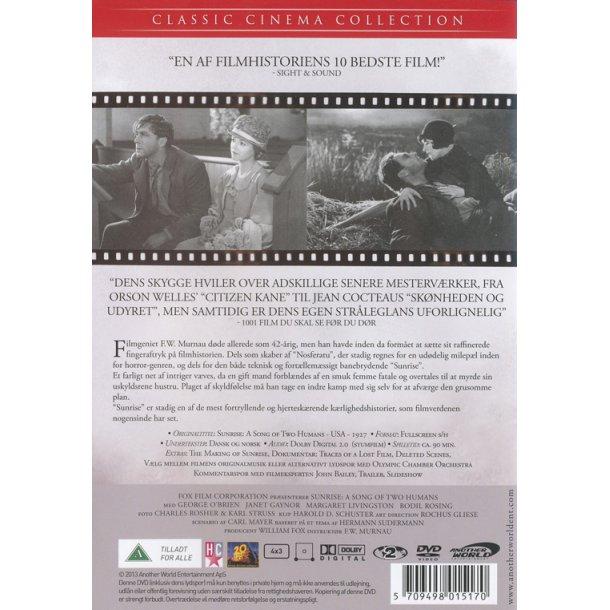 Sunrise (DVD) - dansk tekst