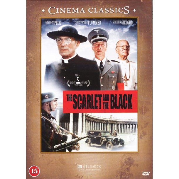The Scarlet and the Black (DVD) - dansk tekst